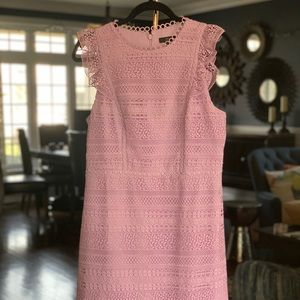 J. Crew never worn lilac lace dress